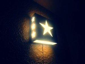 star light on wall - www.myLusciousLife.com.jpg