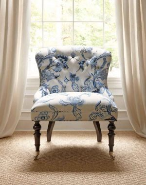mylusciouslife.com - Middleton Chair upholstered in Shrewsbury linen cotton blend by Thibault.jpg