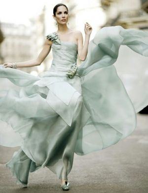 Minty green evening dress - luscious pastels.jpg
