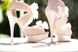 Pastels in fashion - myLusciousLife.com - fabulous pale pink bow shoes.jpg