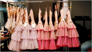 Pastels in fashion - myLusciousLife.com - luscious pastels - rack of dresses.png