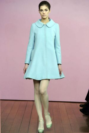 Pastels in fashion - myLusciousLife.com - mint green - Philosophy di Alberta Ferretti Fall 2011.jpg
