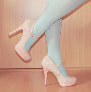 Pastels in fashion - myLusciousLife.com - pastel shoes.JPG