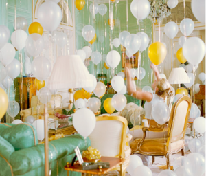 Pastels in home decor - myLusciousLife.com - yellow-balloons.png