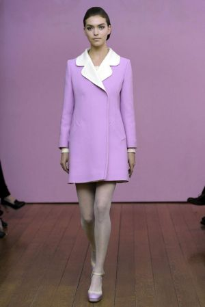 Philosophy di Alberta Ferretti Fall 2011 - mauve - Pastels in fashion - myLusciousLife.com.jpg