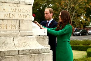 Prince William and Kate Middleton pay their respects at Cambridge war memorial5.jpg