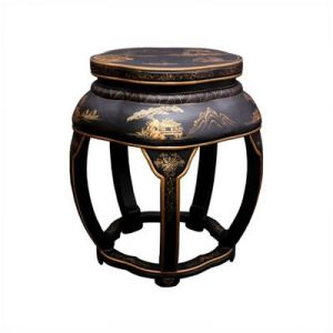 Asian acquer blossom stool - myLusciousLife.com.jpg