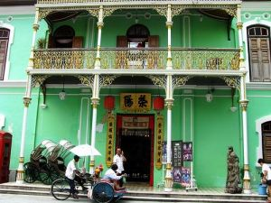 Colourful Asia - green exterior - architecture.jpg