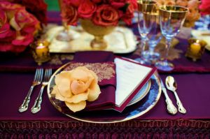 Inspired by Asia - jewel tones - dining table setting.jpg