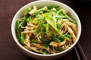 Japanese poached chicken and soba noodle salad.jpg