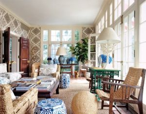 tory-burch-vogue-sun-room-blue-white-chinese-garden-stools-quadrille-linens.jpg