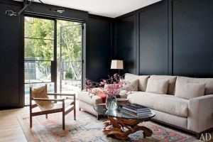 mid-century-decor-black-dark-painted-walls-oriental-rug.jpg