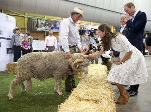Kate Middleton Catherine of Cambridge at the Australian Easter Show.jpg