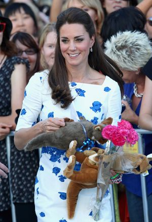 Kate Middleton in LK Bennett blue and white Lasa Poppy print dress in Brisbane - April 2014 tourjpg.jpg