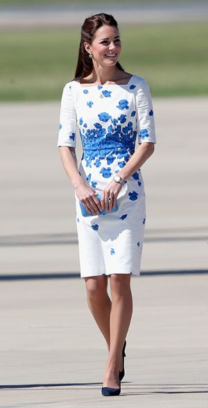 Kate Middleton in LK Bennett blue and white Lasa Poppy print dress.jpg