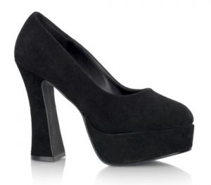 Black Leather DOLLY Chunky Heel Platform Pump by Pleaser Shoes.jpg