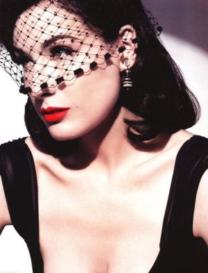 Images of black and white - Dita von Teese with veil.jpg
