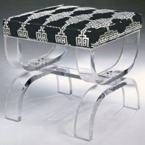 Images of black and white - lucite Mambo Bench.jpg