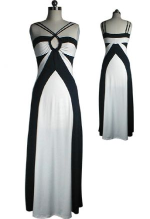 Photos of black and white - Black and white frock.jpg