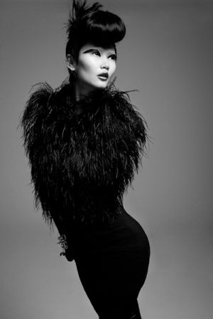 Photos of black and white - Gwen Lu by Jeff Tse - Black Swan.jpg