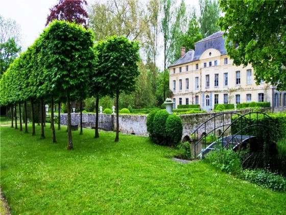 For sale catherine deneuves chateau de primard in normandy france landscaping chateau de primard in normandy france the country house of catherine deneuve sciox Choice Image