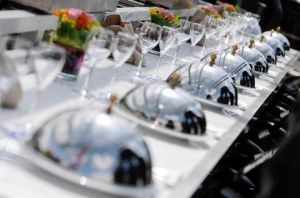 Dinner party setting with silverware - www.myLusciousLife.com.jpg