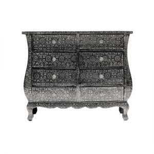 Embossed chest of drawers from The Orchard_Orchid_Metal-embossed-wood.jpg