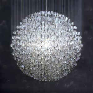 Recycle materials - Optical chandelier by Stuart Haygarth.jpg