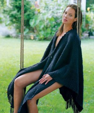 Christy Turlington Burns in Hermes poncho 2012.jpg