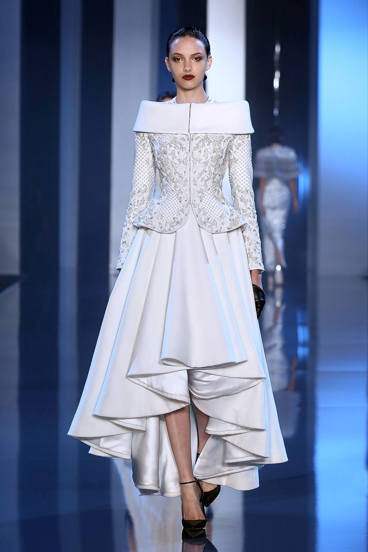 runway ralph and russo fall 2014 couture collection