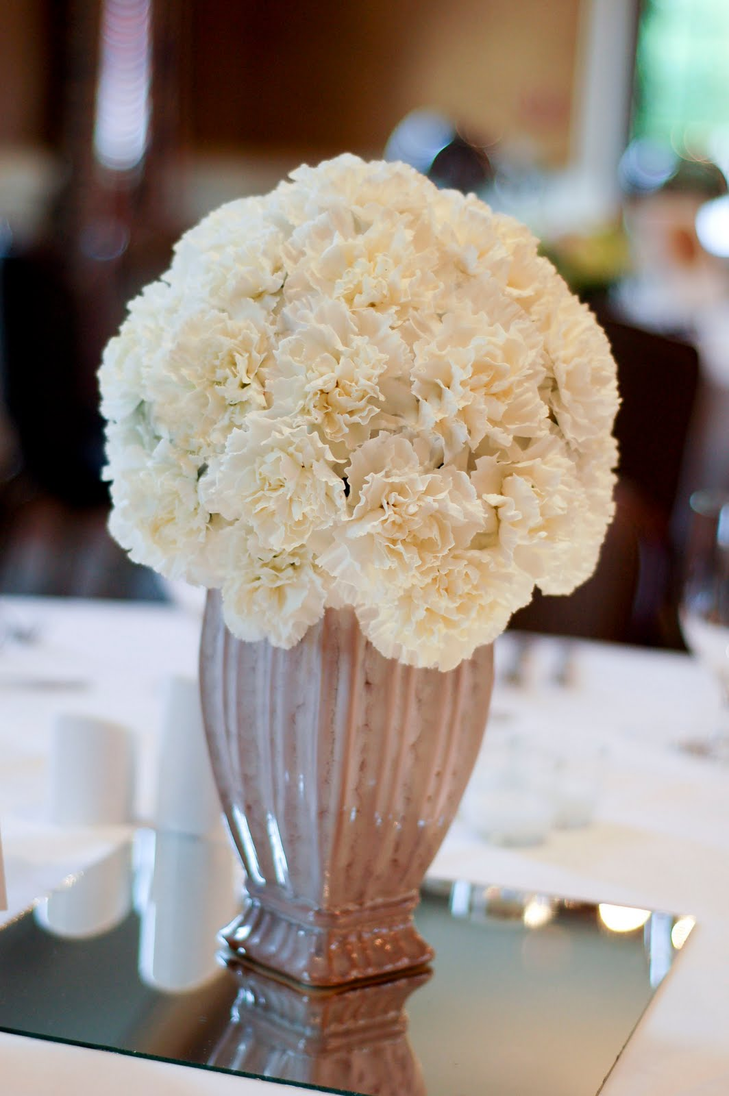 Floral Fancy White And Fluffy Flowers