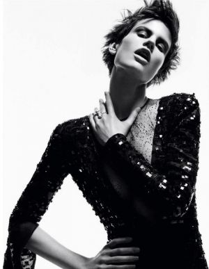 Saskia de Brauw by Daniel Jackson for Vogue Germany November 2012