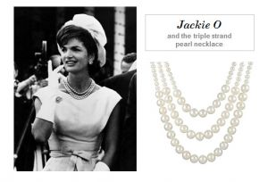 Jackie Onassis  fashion style icon triple strand pearls.jpg