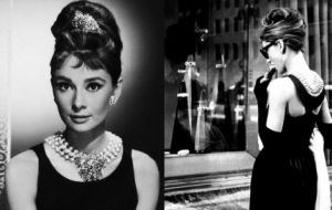 ladylike photos - pearl necklaces earrings bracelets - Audrey Hepburn with pearls.jpg