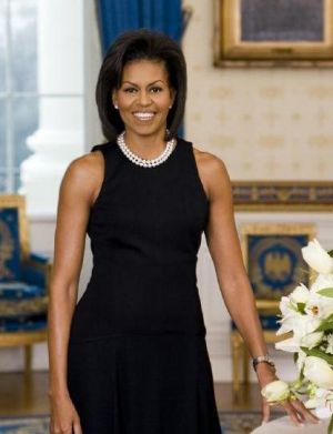 luscious pearl photos - pearls Michelle Obama.jpg