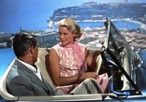 Grace Kelly pink coral dress in To Catch a Thief.jpg