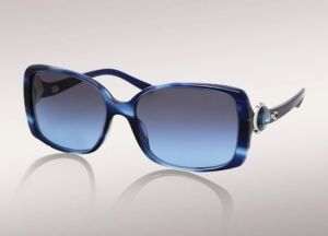 ulgari Bvlgari Emeralds Acetate Sunglasses With Striped Blue And Navy With Blue-Green Crystals.jpg