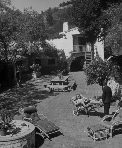 Old Hollywood At Home With The Stars Pictures Of