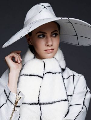 Emma Ferrer for Harpers Bazaar Sept 2014 by Michael Avedon grandson of Richard Avedon.jpg