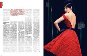 Li Bingbing by Chen Man for Vogue China October 2012