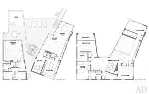 A geometric Hamptons house by Leroy Street Studio and decorator Thad Hayes Design-floor-plans.jpg