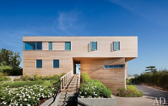 A geometric Hamptons house by Leroy Street Studio and decorator Thad Hayes Design-entrance.jpg