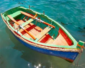 multicoloured rowboat row boats wooden boats - www.myLusciousLife.com.jpg