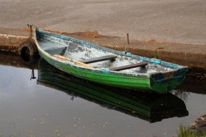 row boats wooden boats - www.myLusciousLife.com - green and blue row boat.jpg