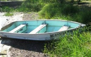 row boats wooden boats - www.myLusciousLife.com - pale blue white row boat.jpg