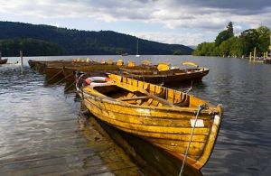 row boats wooden boats - www.myLusciousLife.com - rowing_boats_on_windermere.jpg