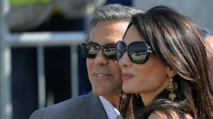 Amal and George prior to their marriage in Italy - September 2014.jpg