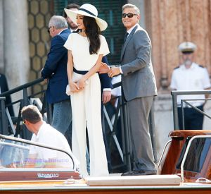 George Clooney and Amal Alamuddin arrive at Cavalli Palace for their civil marriage ceremony.jpg