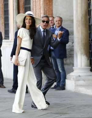 George Clooney and Amal Alamuddin at the signing the official wedding register.jpg