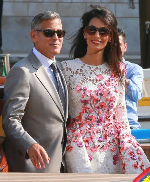 George Clooney and Amal Alamuddin wedding ring and floral Giambattista Valli Couture dress details.jpg